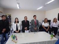 Na manhã desta quinta-feira 06 de junho foi entregue a obra de ampliação e reforma das instalações da promotoria de justiça no município de Guadalupe
