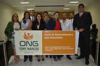 Presidente da ONG Tony Marcos apresenta Relatório de Atividades em 2017