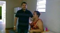 Vereador Adão visita casa de Guadalupe em Teresina e constata melhorias