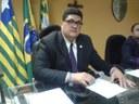 Vereador Marcelo Mota (PDT) Em Tribuna o Vereador fez questionamento para onde está indo o dinheiro das inscrições da vaquejada