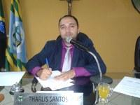 Vereador Presidente Tharlis Santos (PSD) falou que em nenhum momento foi bloqueada as contas da Câmara Municipal de Guadalupe