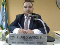 Vereador Presidente Tharlis Santos (PSD) Parabeniza a Prefeita e sua equipe pela organização das comemorações esportivas do dia do trabalhador