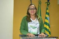 Vereadora Hélvia Almeida (PSD) Apresenta indicativos referentes ao Meio Ambiente com ações e palestras ambientais nas Escolas