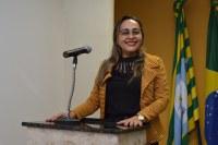 Vereadora Hélvia Almeida (PSD) Através de indicativo solicita parceria com o SENAR para cursos de cuidador de idosos