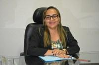 Vereadora Hélvia Almeida (PSD) Cobra da empresa Getel mais uma vez a conclusão das estações de tratamento de Esgoto