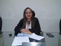 Vereadora Hélvia Almeida (PSD) Faz indicação para doação de material Esportivos para equipes de handebol feminino
