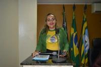 Vereadora Hélvia Almeida - PSD, solicita imagem de Nossa Senhora de Guadalupe, no Portal de Entrada da Cidade