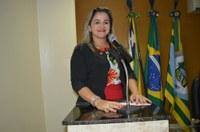 Vereadora Luciana Martins - PCdoB agradeceu trabalho de Eduardo Rocha em prol da Saúde de Guadalupe