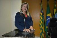 Vereadora Luciana Martins - PCdoB destacou preocupação da Prefeita com situação do Matadouro