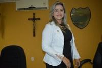 Vereadora Luciana Martins - PCdoB parabeniza escola Alexandrino Mousinho por sucesso em feira de leitura