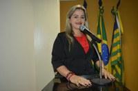 Vereadora Luciana Martins - PCdoB se coloca favorável ao projeto Avançar Cidades