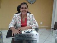 Vereadora Surama Martins (DEM) Disse que fica indignada pela não transmissão das Sessões pela Rádio