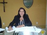 Vereadora Surama Martins (DEM) Diz que está com a consciência tranquila e é reconhecida pelo seu trabalho