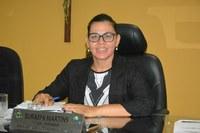 Vereadora Surama Martins (DEM) Em tribuna ressalta as reclamações e cobranças da População sobre a iluminação Pública em diversos Bairros