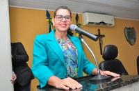 Vereadora Surama Martins (DEM) Parabenizou a escola IEEB e todos que contribuíram para a realização do evento