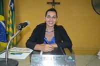 Vereadora Surama Martins - DEM, volta a pedir transporte para moradores da zona rural
