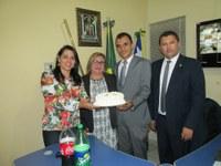 Vereadores homenageiam Martinez Geony pela passagem de seu aniversário